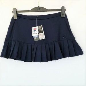 FILA Womens Skirt Skort Medium Navy Ruffled Hem